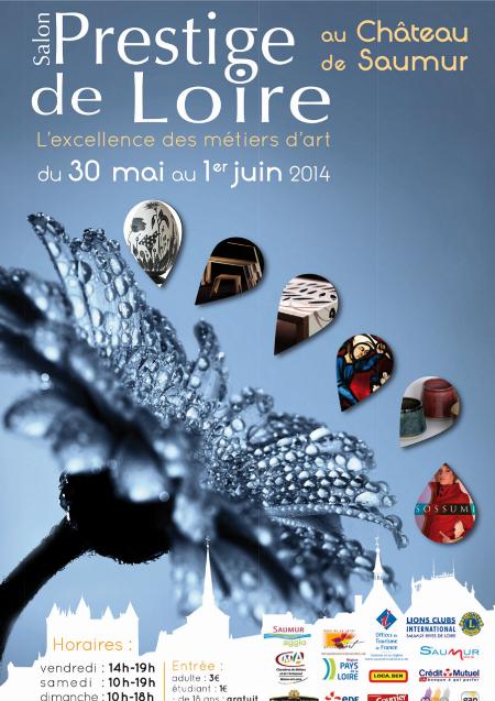 Affiche Salon Prestige de Loire